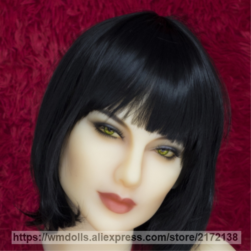 New WMdoll Real Full Silicone Sex Doll Head for Adult Japanese Love dolls Oral Sex Heads New WMdoll Real Full Silicone Sex Doll Head for Adult Japanese Love dolls Oral Sex Heads