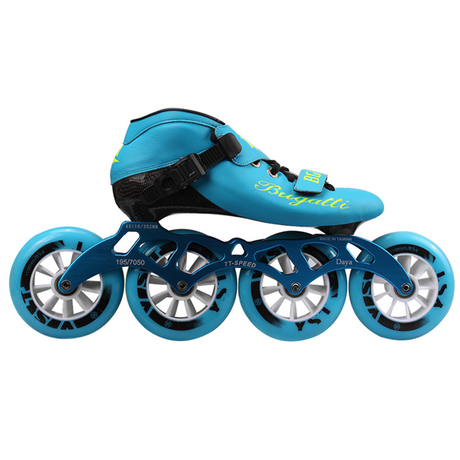 Speed Inline Skates Carbon Fiber Professional 4*100/110mm Competition Skates 4 Wheels Racing Skating Patines Similar Powerslide japy cityrun speed inline skates carbon fiber professional competition skates 4 wheels racing skating patines similar powerslide