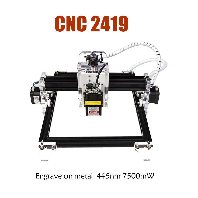 DIY Laser Engraver Machine Mini CNC 2419 With Lasers Heads 500mw/2.5W/5.5W/15W With lifting platform