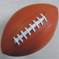 Instock Outdoor Sport Rugby Ball American Football Balls PU Size 9 For College Teenagers Training And Match
