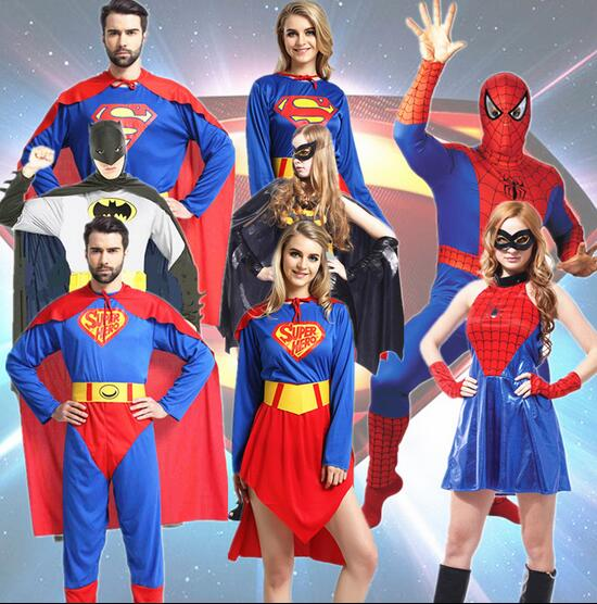 Hot 2017 Halloween party cosplay clothes adult superman clothes Couple costumes Superhero Movie clothing Masquerade costume-in Anime Costumes from Novelty ...  sc 1 st  AliExpress.com & Hot 2017 Halloween party cosplay clothes adult superman clothes ...