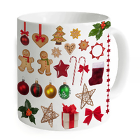 Hot Sale Drinking Coffee Tea Mug Fancy Creative Milk Water Large Ceramic Cups Unique Christmas Gifts