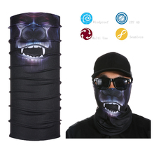New 100% Polyester Stretch Neck Tube Head Skull Bandana for lady autumn fall winter