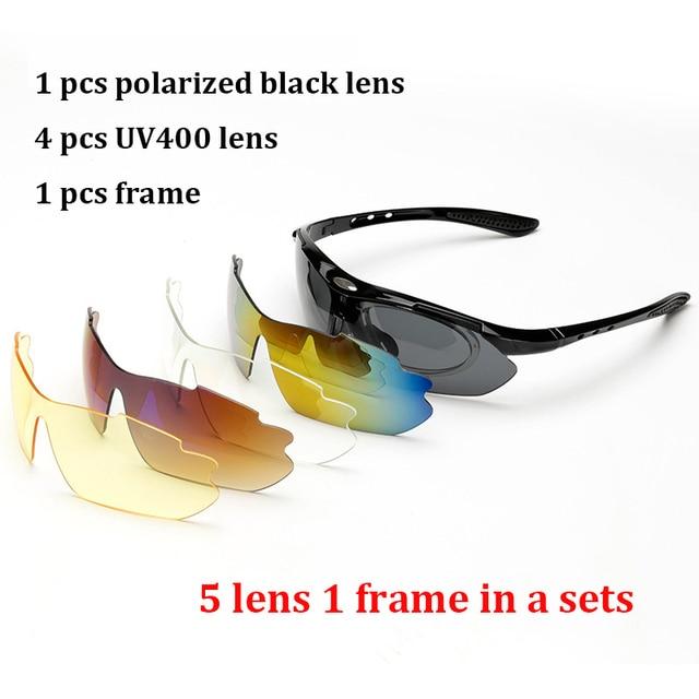 الاستقطاب حملق النظارات الشمسية الرجال النساء 5 في 1 الرياضة في الهواء الطلق النظارات البصرية وصفة طبية إطارات نظارات نظارات