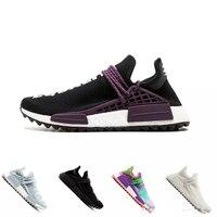 Earth BBC Holi Cream trail Running Shoes Men Women Pharrell Williams HU Runner Glow sports Trainer sneaker 36 45