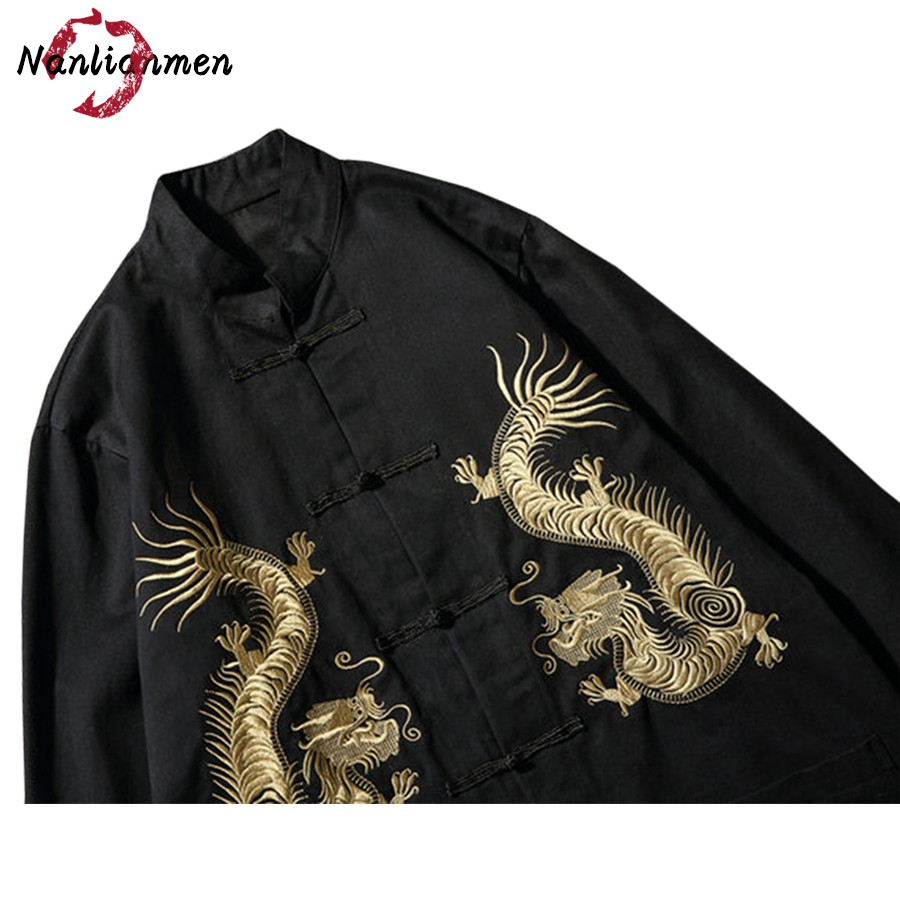 2017 Limited Standard Cotton Single Breasted New Chinese Dragon