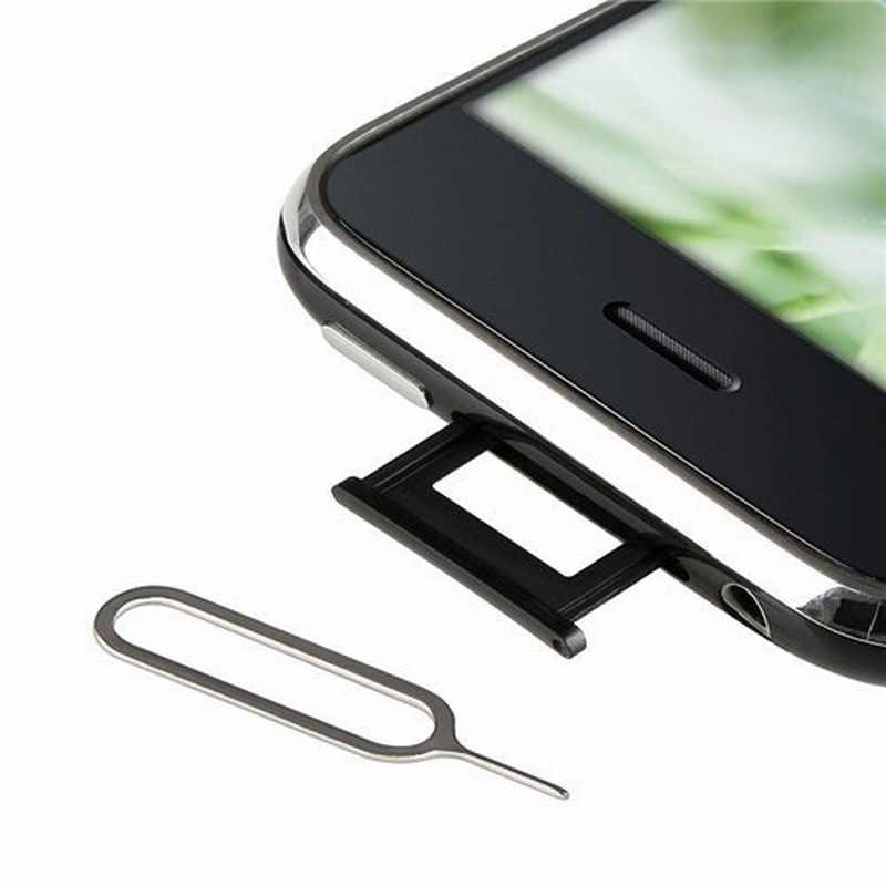 Nyfundas bandeja de cartão sim pino de ejeção aberto para apple iphone x 8 plus xiao mi nota vermelha 4x mi 6 mi a1 mi x 2 smartphones ferramenta acessórios