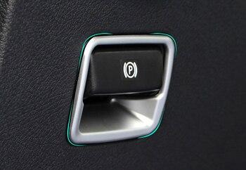 Moldura de cubierta de marco de freno de mano, Interior de ABS mate, 1 Uds. Para mercedes-benz Vito W447 2014-2018