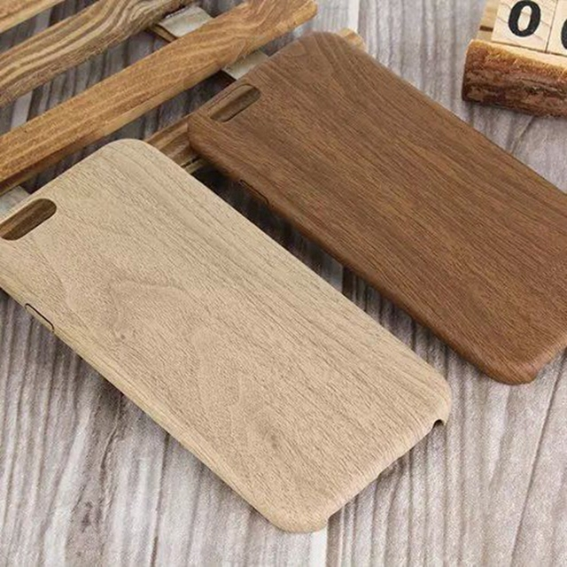 Vintage Wood Texture Pattern Cases For iPhone 7 6 6S Plus 5 5S SE Case Ultra thin Soft Wood Cover For iPhone 6 7