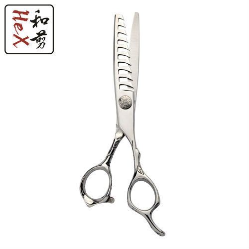 6 - 10 teeth rose engraved hair texturizing scissors high quality professional styling tool free ship 6 hair cutting scissors high quality professional sus440c hair styling tools