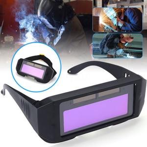 Image 5 - Auto Darkening Welding Helmet DIN11 Durable Automatic Light Change Anti Glare Eyes Shied Goggle Glasses Masks Autos Shades