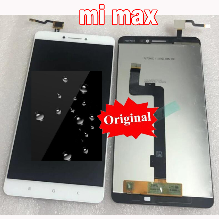 Best 6 44 Original Tested LCD screen display touch Digitizer assembly with frame for Xiaomi Mi