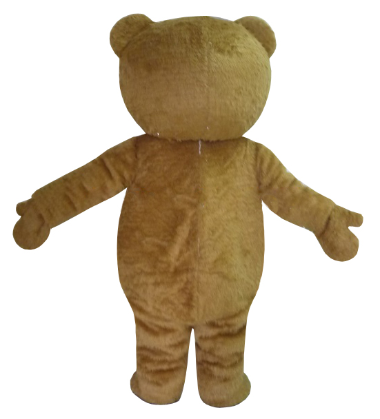 Teddy Bear of TED Adult Size Halloween Cartoon Mascot Costume Fancy Dress 1#