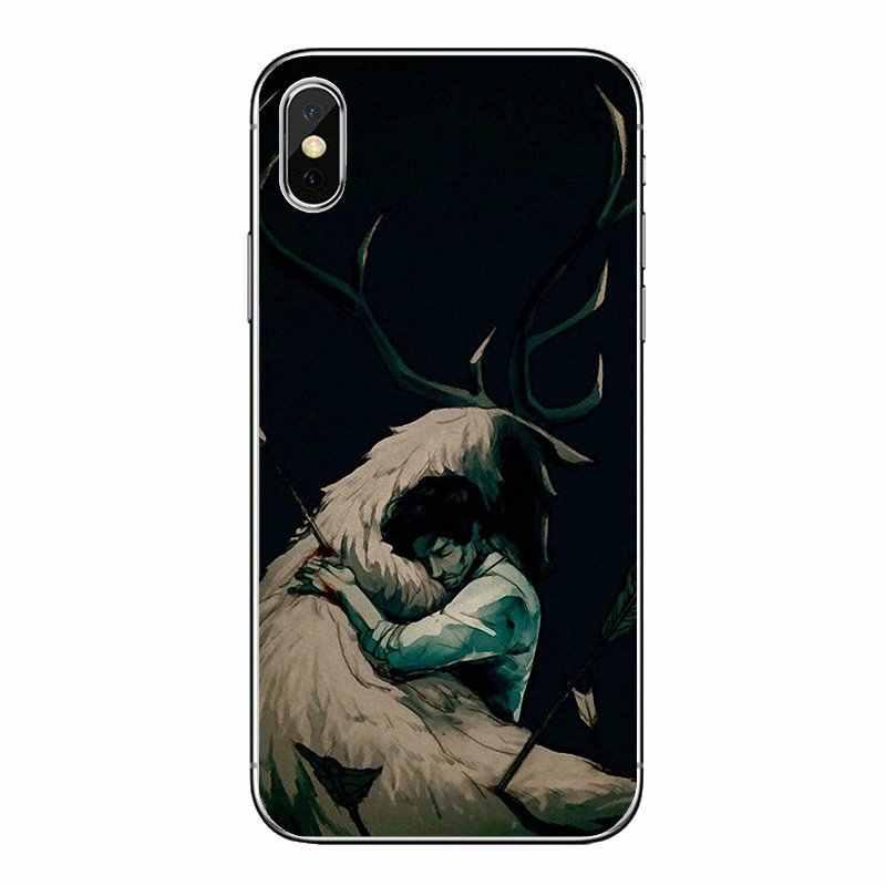 Silikon Ponsel Case untuk Xiao Mi Mi A1 A2 5X6X8 Lite Se Pro Max Mi X 2 2 S 3 Mi 5 MI 5 S Makan Kasar Hannibal Fannibal Seni Fannibal
