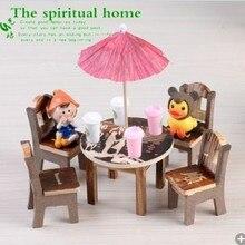 Новое поступление, горячая Распродажа,, Мини-мебель, деревянные изделия, украшение для дома, садовый декор, детские игрушки