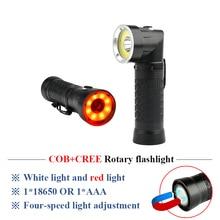 linternas led recargable de alta potencia xml t6 multifunctional COB work light inspection lights 90 degree folding flashlight sitemap 19 xml