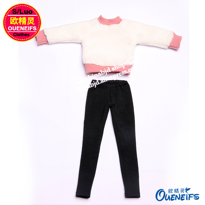 OUENEIFS free shipping ,Autumn or winter sweater,pants or A full suit of clothes,1/4 bjd/sd doll clothes,no doll or wig YF4-167 5