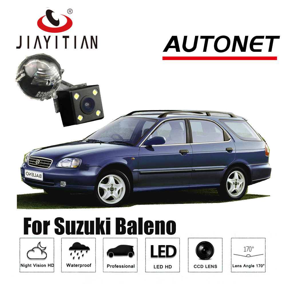 JIAYITIAN Rear View Camera For Suzuki Baleno CCD Night Vision Reverse Camera backup camera Licence lamp camera ...