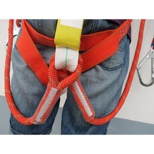 Image 3 - ربط حزام الأمان خمس نقاط كامل الجسم مزدوجة عامل الأمان ل بناء العمل حماية المعدات مع العازلة