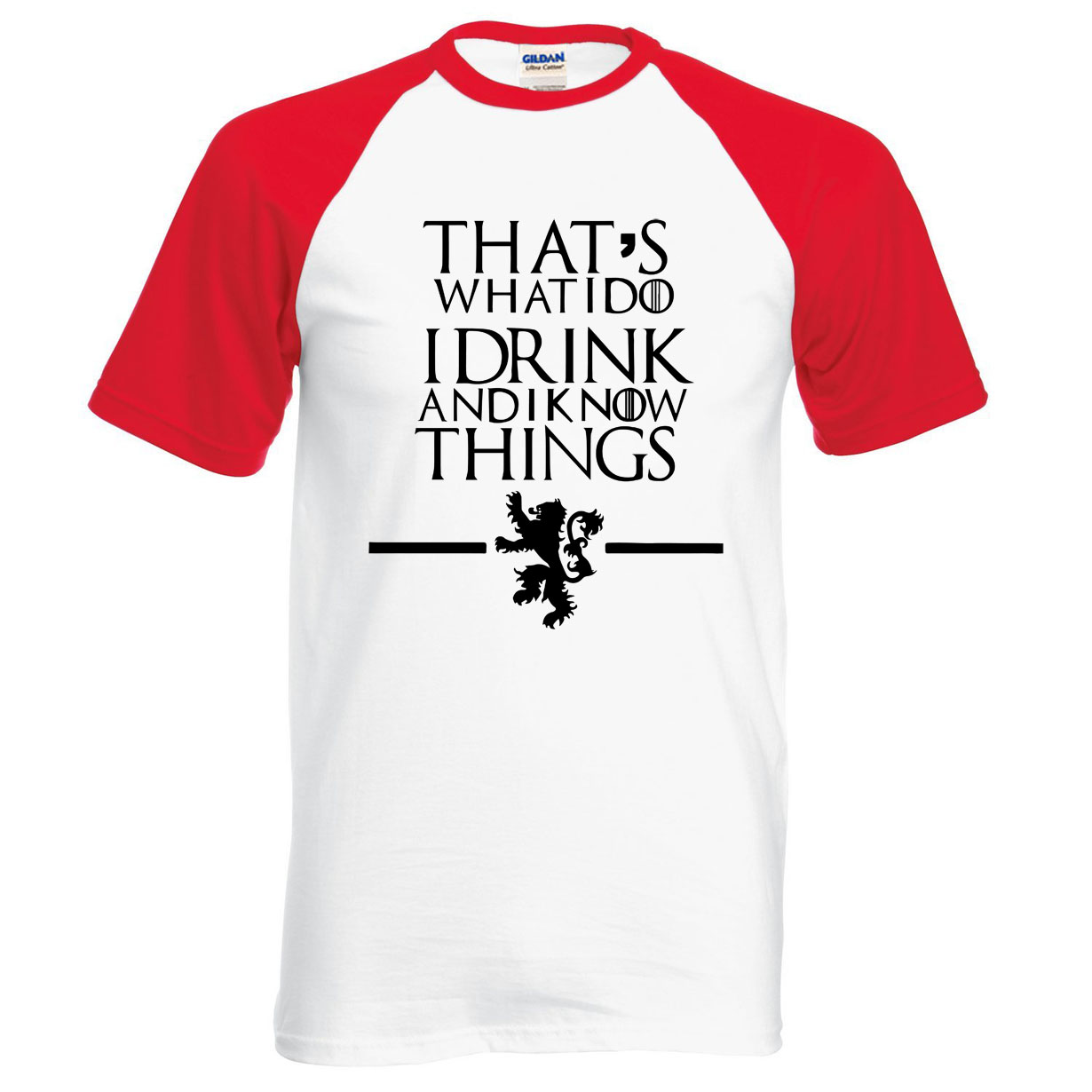 Game of Thrones T Shirt That's What I Do I Drink 5
