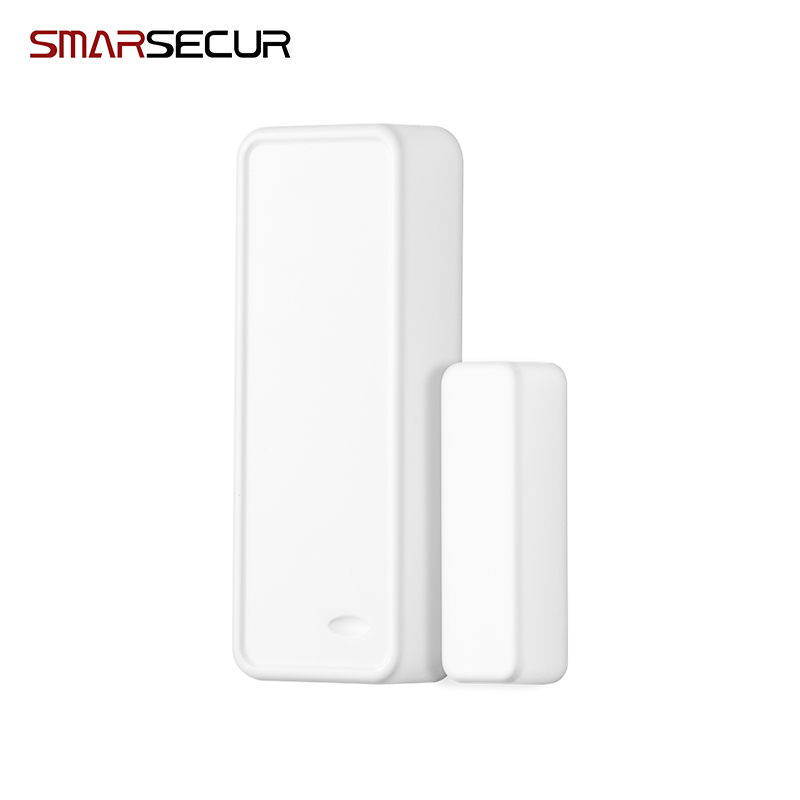 Smarsecur Wireless Intelligent Door/Window Sensor Contact For Security GSM Wifi Alarm System 433MHZ wifi gsm home security alarm system ios android control rfid keypad 433mhz wireless intelligent door window sensor pir sensor