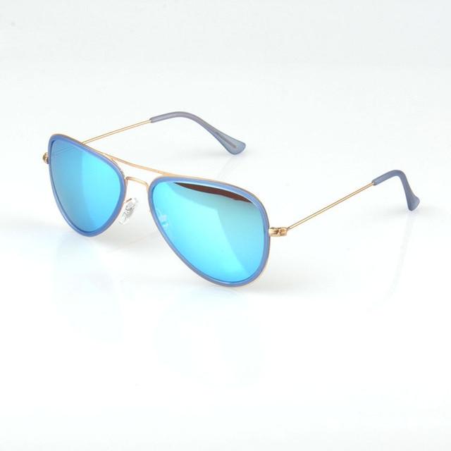 aaedc94c6d DG Eyewear Fashion Aviator Sunglasses Designer Sky Blue Shades New Mens  Women