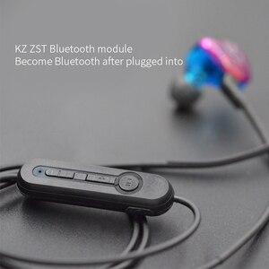 Image 3 - KZ ZST/ZS3/ZS5/AS10/ZS6/ZS10/ZSA/ES4 Bluetooth Cable 4.2 Wireless Upgrade Module Detachable Cord Applies KZ Original Headphones