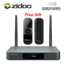Original Zidoo X9 Smart TV BOX Android 6.0 + OpenWRT (NAS) Realtek RTD1295 2G/16G 802.11ac WIFI Bluetooth 1000 Mt LAN Media Player