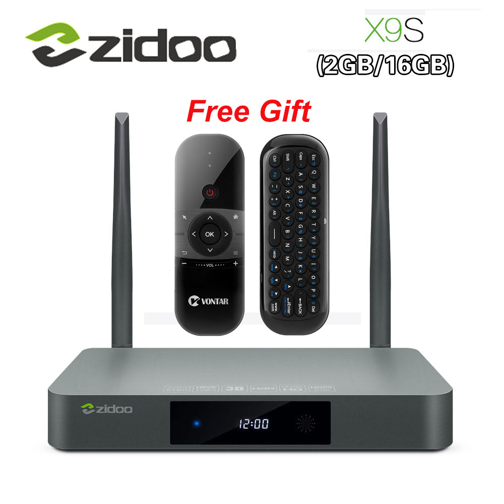 Presale ZIDOO XS Smart TV BOX Android OpenWRT NAS Realtek RTD G