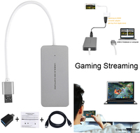 NEW USB 3.0 Capture HDMI Cableto USB3.0 Game Live Streaming Video Recording Dongle For PS3 PS4 XBox one TV BOX For iPhone Phone