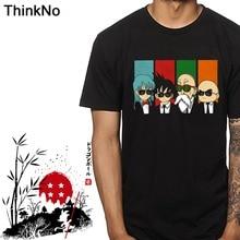 Dragon ball Z Son goku Tees Master Roshi T shirt Plus Size Krillin Tees Bulma Super saiyan t shirt Casual 3D Print цена и фото
