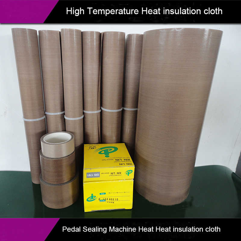 Sealing Machine Spare Parts Pedal sealing machine high temperature heat  insulation cloth heat resistance cloth