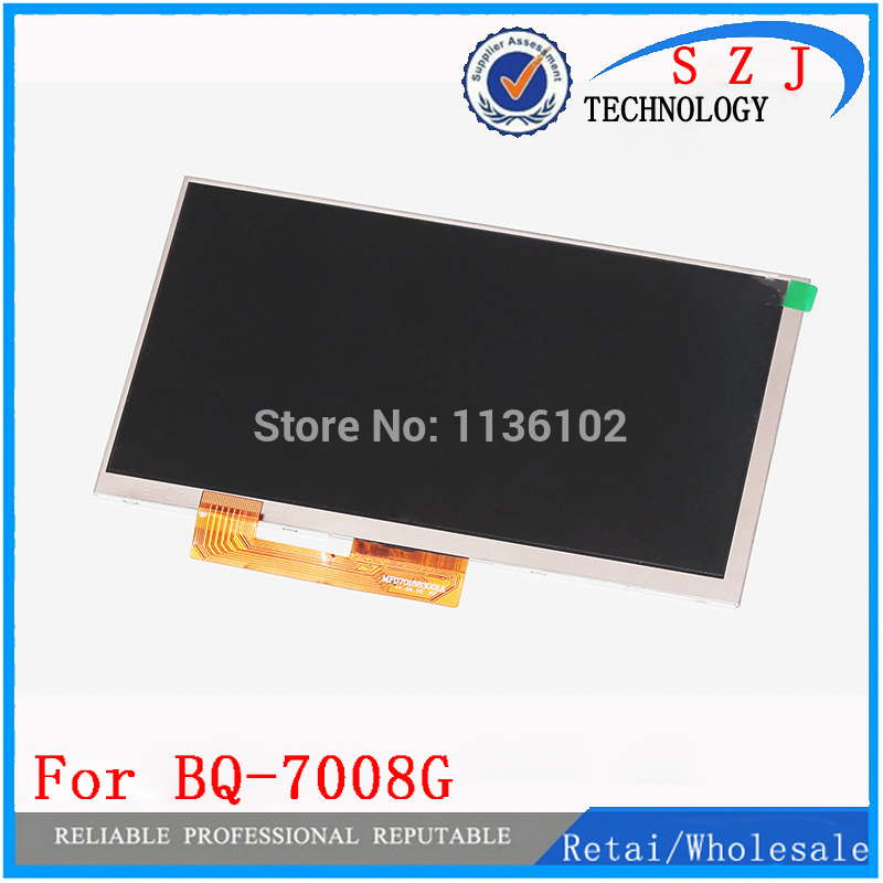 New 7 Inch For BQ-7008G BQ 7008G LCD Display Matrix Tablet Inner LCD Screen Panel Replacement Parts Capacitive Screen new lcd display matrix for 7 bq 7008g bq 7008g tablet inner lcd screen panel lens frame replacement free shipping