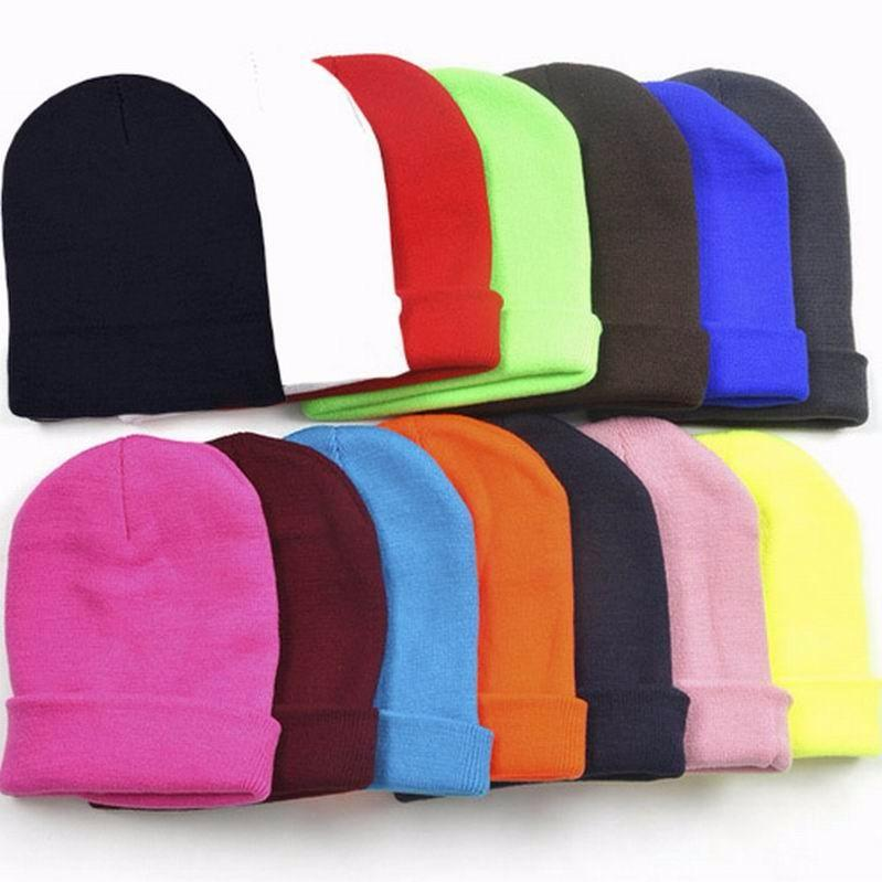 ac699a70dc3 2019 LASPERALHat Neon Knitted GD Hip Hop Ski Sport Winter Autumn Cap ...
