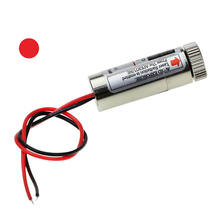 Electronic Components Supplies - EL Products - Hot Sale  650nm 5mW Line  Linear Red Laser Module Head Glass Lens Focusable Industrial Class Free Shipping