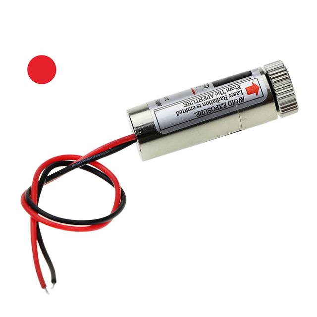 5MW 650nm Laser Module Mainly Adjust The Laser Red Dot is 5 V Industrial Grade