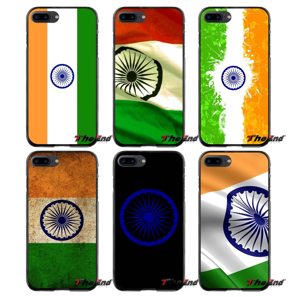 For Apple iPhone 4 4S 5 5S 5C SE 6 6S 7 8 Plus X iPod Touch 4 5 6 India Indian Flag Accessories Phone Cases Covers