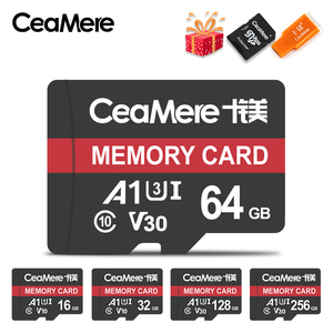 CeaMere Memory Card 256GB 128G