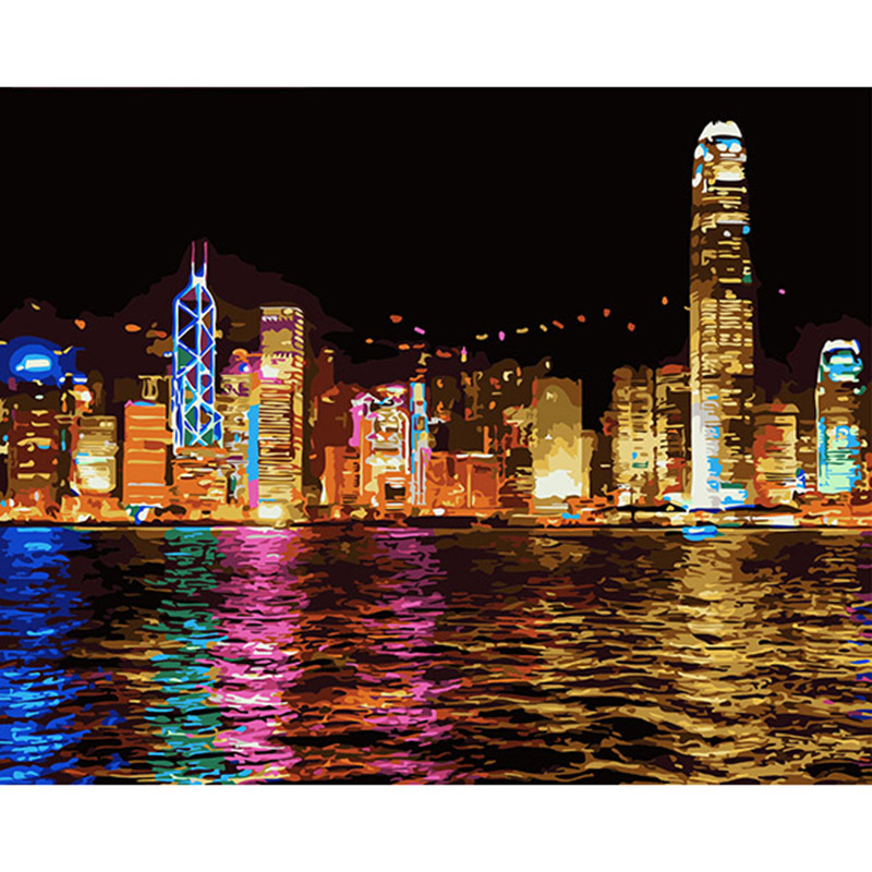 Online Buy Wholesale Canvas Oil Painting Hong Kong From