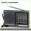 TECSUN R-9700DX Original radio FM stereo MW SW 12 Band Mundo Receptor de Radio Portátil de Doble Conversión R9700DX envío gratis