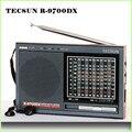 TECSUN R-9700DX rádio FM MW stereo SW 12 Banda Original Receptor Mundo R9700DX Rádio Portátil Dual Conversão frete grátis