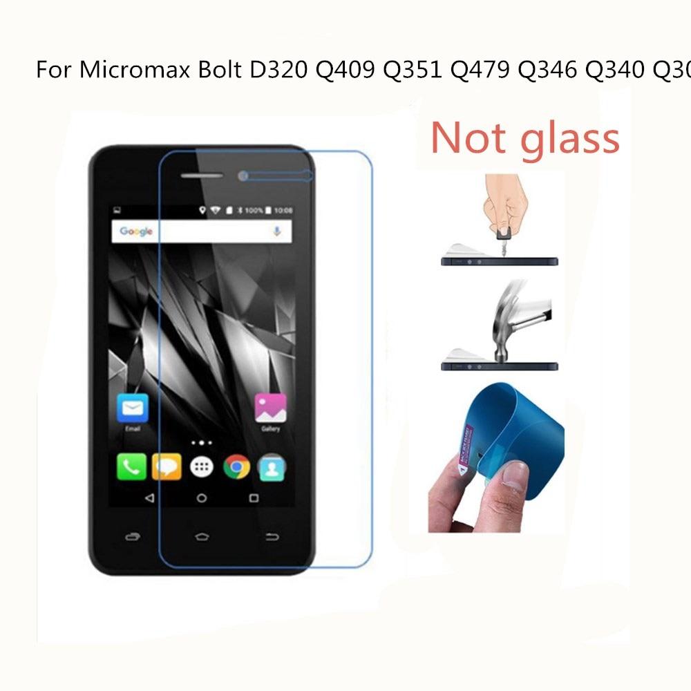 Ultra-thin Nano-proof membrane not glass Screen Protector for Micromax Bolt D320 Q409 Q351 Q479 Q346 Q340 Q301
