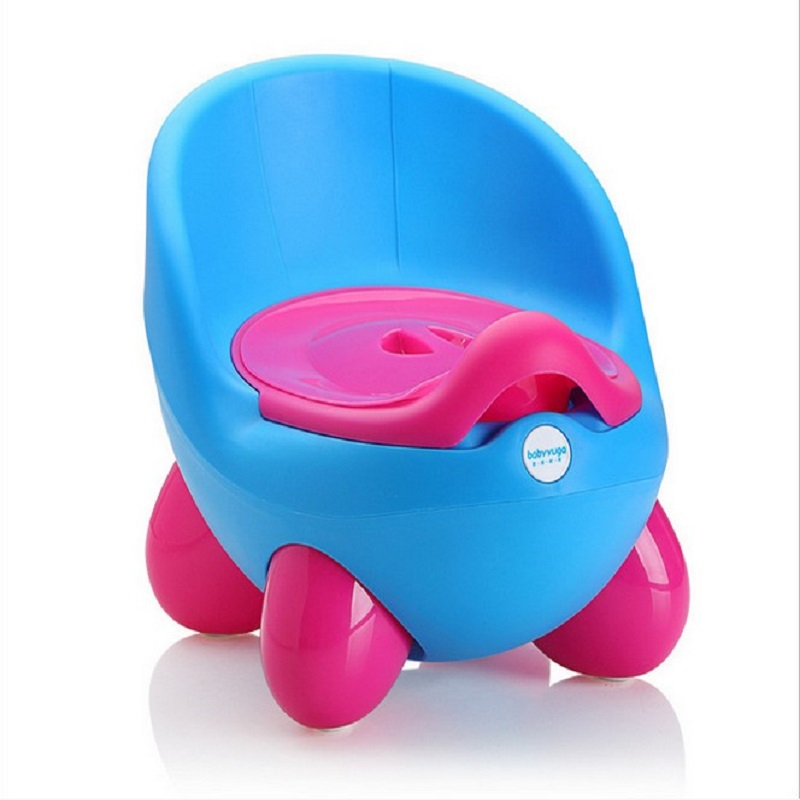 Baby Potty Training Toilet Plastic Non-slip Kids Toilet Seat Foldable Protable Travel Potty Chair Infant Children Pee Trainer