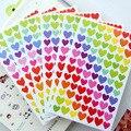 Cuaderno de Clase Pegatinas Adhesivas De Papel Lable Clásico Adesivi Diario Kawaii Sticker 3 Estilos Niños Pegatinas 6 Hojas/Juego
