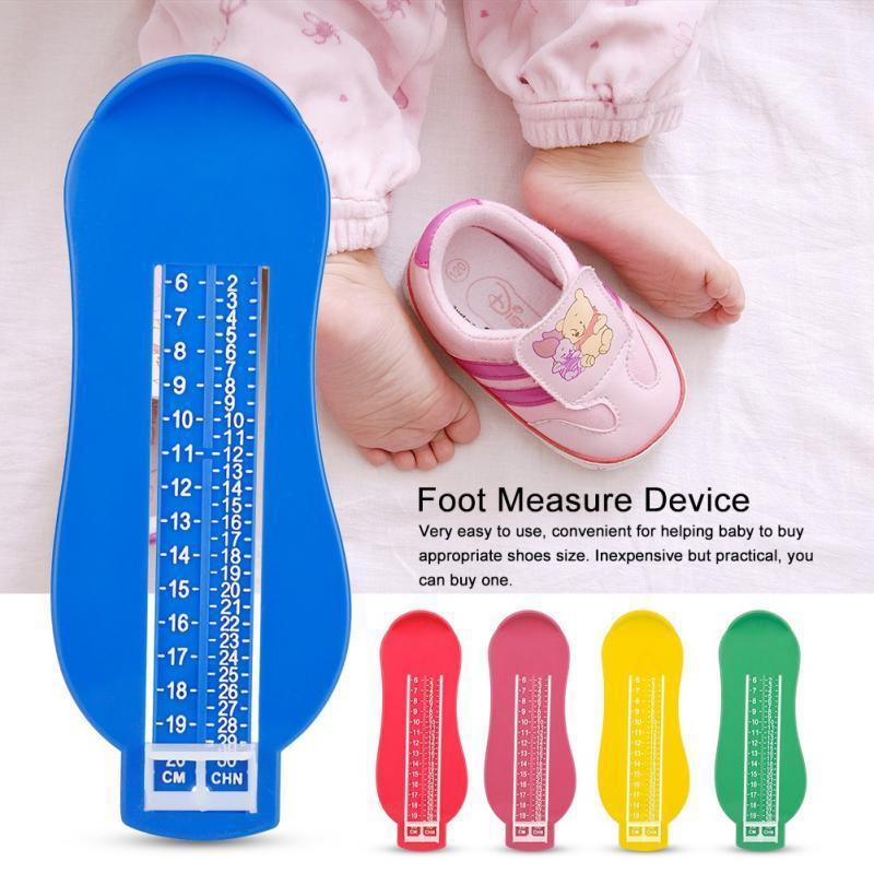 Child Kids Baby Geometric Feet  Shoe Size Measure Tool Toddler Device Ruler Kit