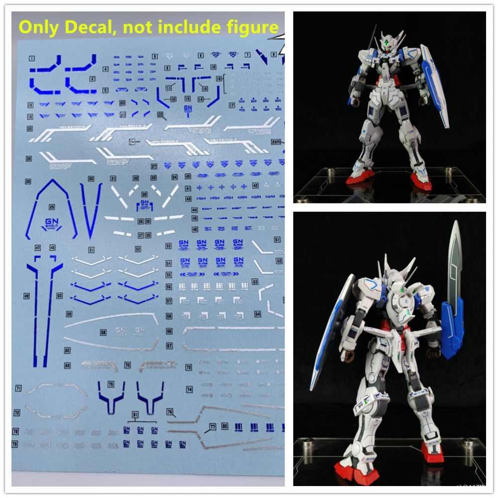 DL chapeamento de alta qualidade blue & prata Decalque água colar GN09 Para Astraea Gundam Bandai MG 1/100 GNY-001 DL125