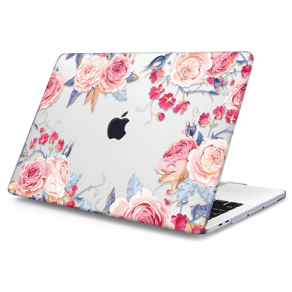 Floral Printing Hard Case for MacBook 135
