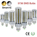 super brightness E27 E14 5736 SMD LED light 5W 7W 9W 15W 20W 25W LED lamp Corn Bulb AC220V A110V No Flicker lighting Bulbs