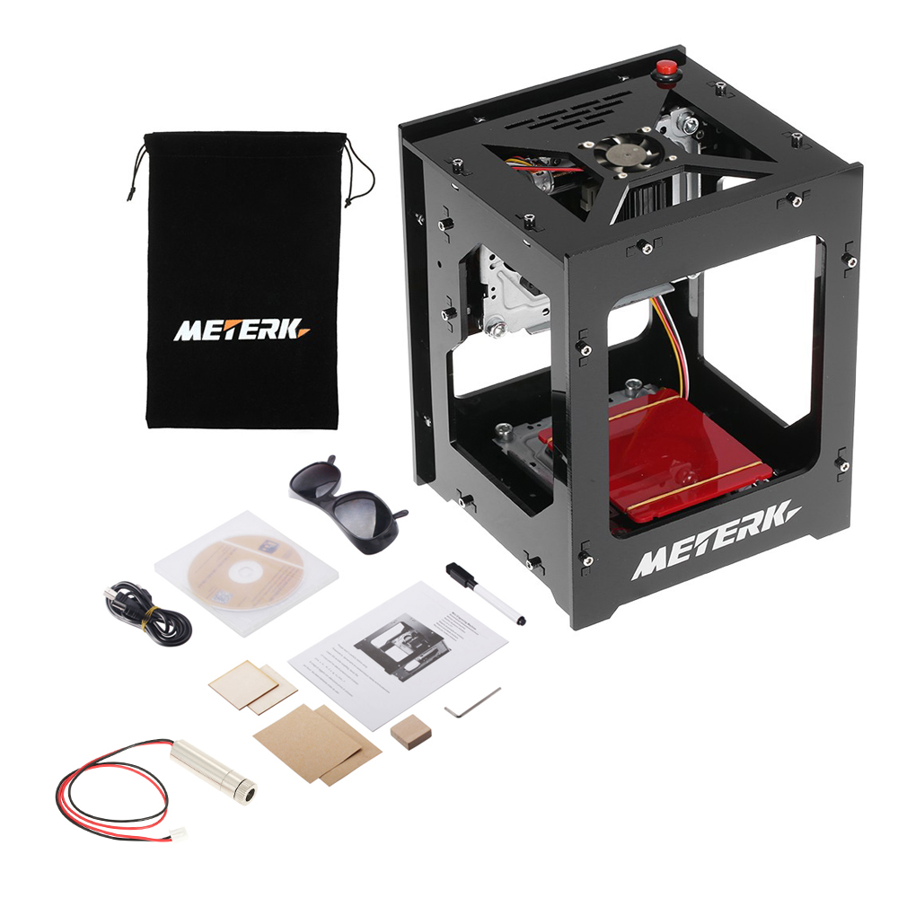 1500mW cnc laser cutter Laser Engraver Wireless Blueto 4 0 Engraving Machine for iOSAndroid USB for