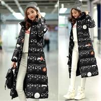 2016 New Winter Coat Thick Padded Down Korean Large Code Slim Jacket